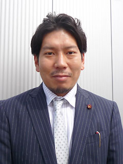 大村市議会議員 園田裕史氏
