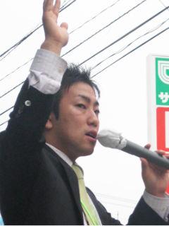 神奈川県議会議員 中谷一馬氏