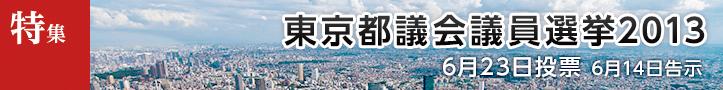 東京都議会議員選挙2013