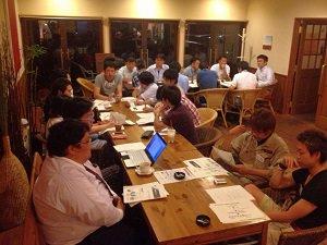 同世代と未来の米沢を語り合うタウンミーティング