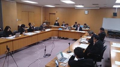 自由討議をする流山市議会議員定数等に関する特別委員会