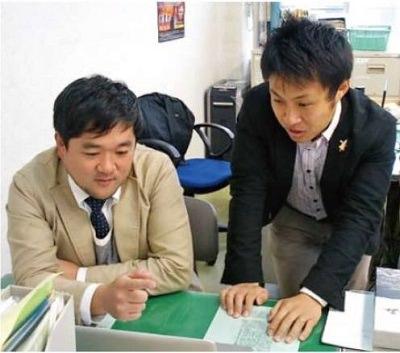 木藤亮太氏と田鹿倫基氏