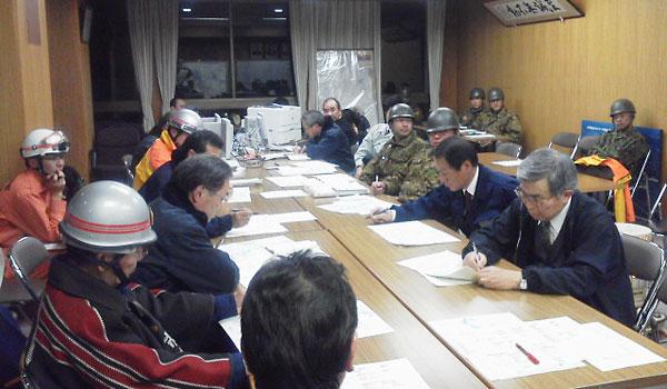 第4回災害対策本部会議(2011年3月12日)