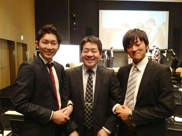 「選挙へGO!!」の創設メンバー(第7回マニフェスト大賞授賞式で、2012年11月2日)