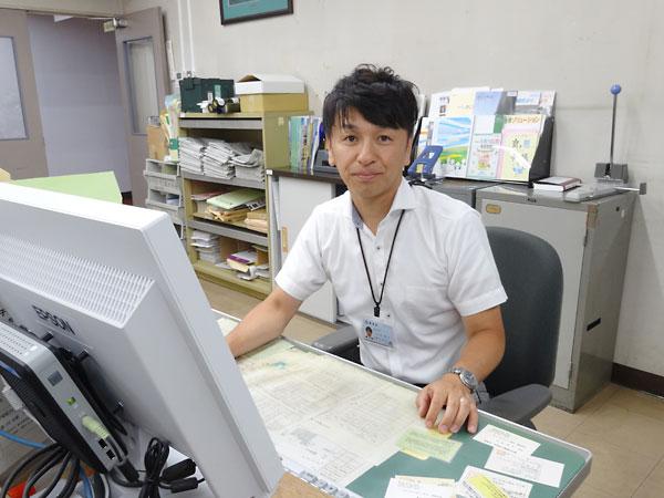 長野県塩尻市 議会事務局 議事調査係長 上村英文さん