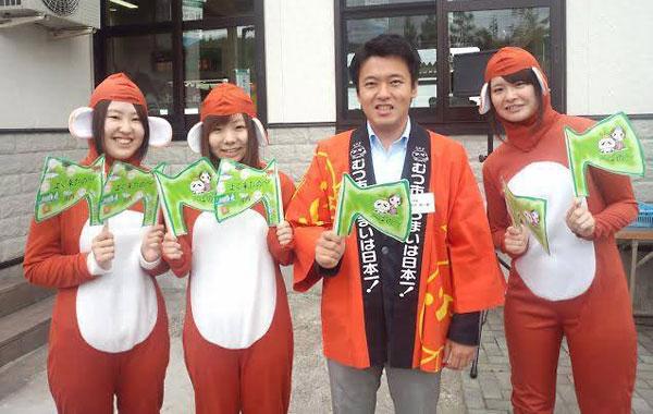 自分事化した女子学生達と宮下市長