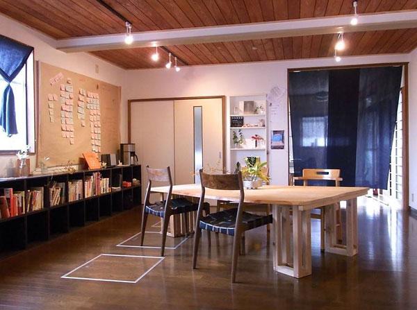 津屋崎ブランチのオフィス