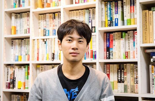 「地域おこし協力隊」の土井隆さん