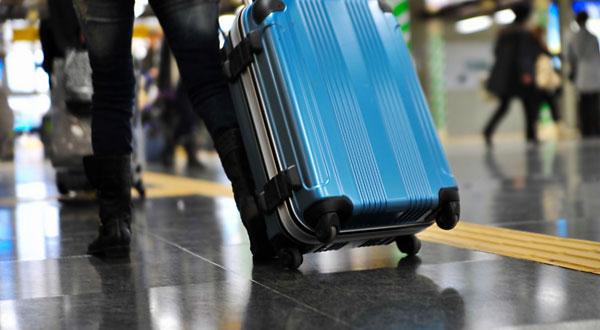 旅、スーツケース