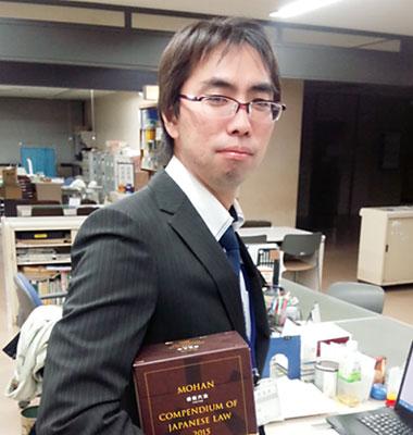 千葉県流山市 総務部総務課 主任主事 高松秀人さん