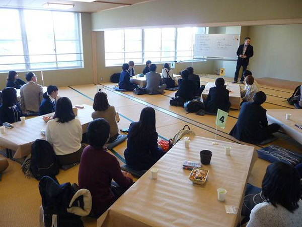 津屋崎ブランチ山口さんのワールドカフェ
