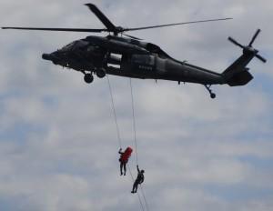 ヘリコプター救助