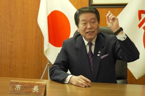 神奈川県厚木市の「小林」常良市長