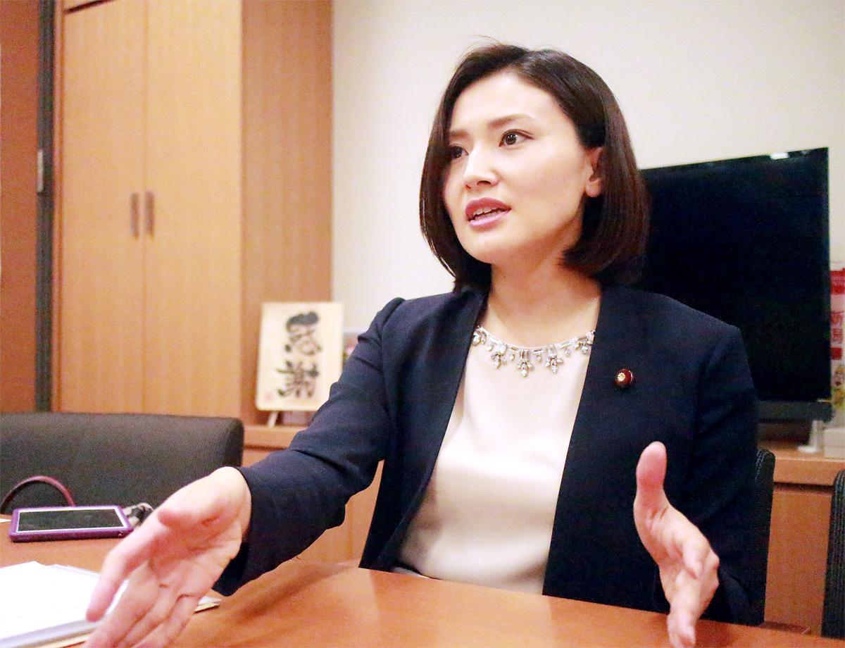 金子恵美・衆院議員1