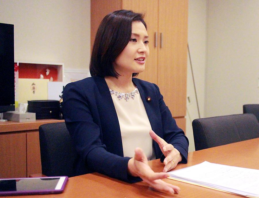 金子恵美・衆院議員2
