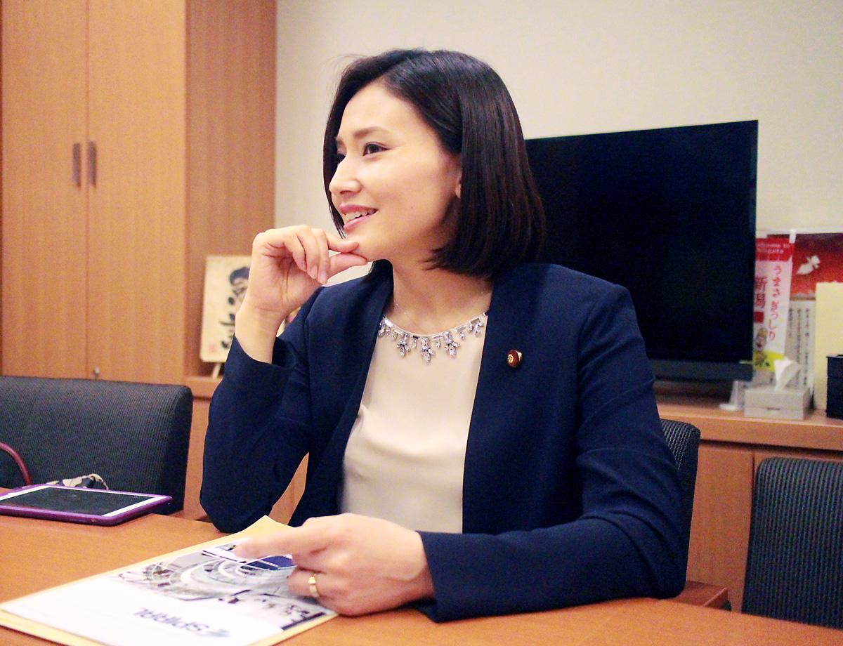 金子恵美・衆院議員3