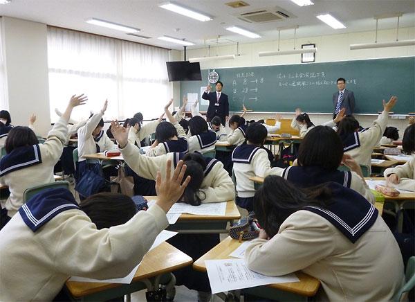 私立高校で生徒会予算をテーマにした主権者教育を実践する筆者