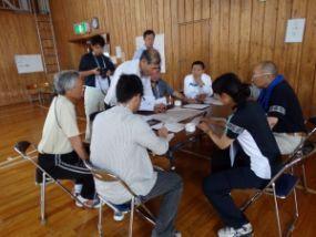 各部の責任者で運営会議を開く参加者