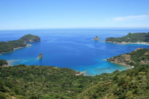 大小30余りの島々からなる小笠原諸島