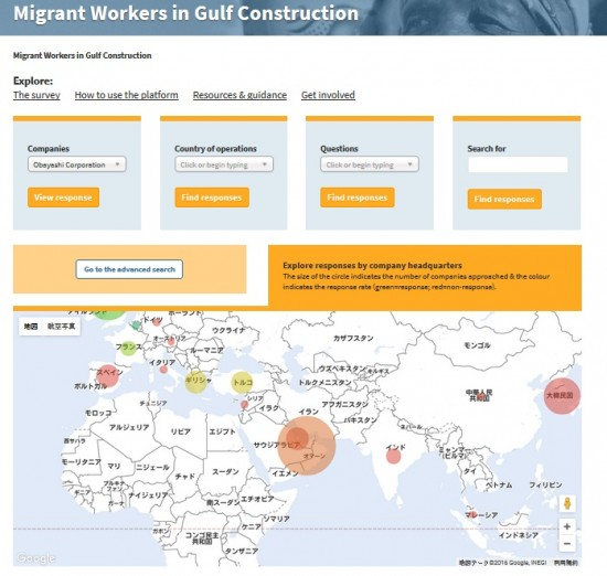 Migrant Workers in Gulf Construction
