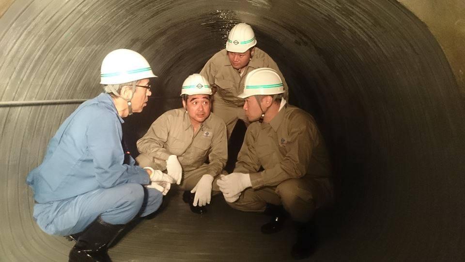 横浜市の下水道施設を視察