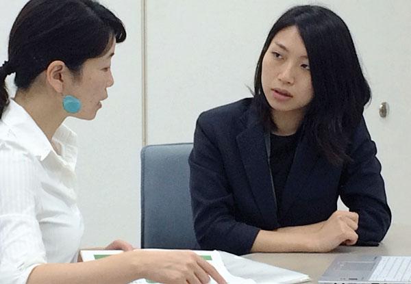 服部さんと飯澤さん