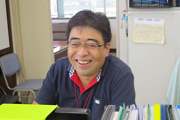 松葉茂博さん