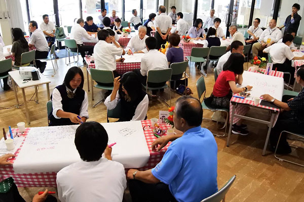 久慈市議会「高校生かだって会議」