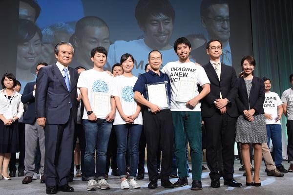 特別ソーシャルイノベーターの最優秀賞に選ばれた岩本さん