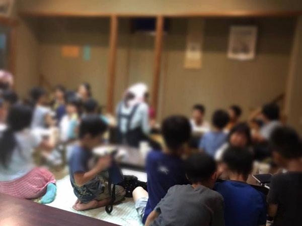 ずし子ども0円食堂に集まる子どもたち