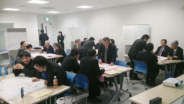 会津若松市議会での対話型研修