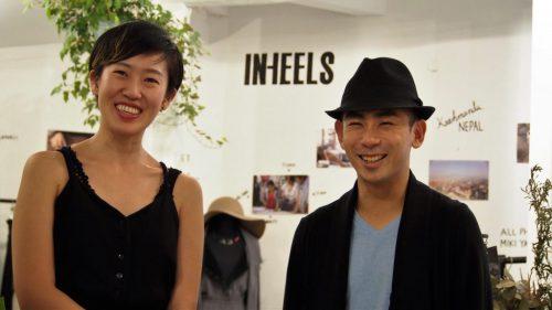 INHEELS共同代表 岡田有加さん、右・COO布田尚大さん