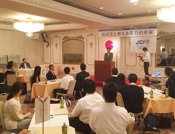 高樋市長の講演
