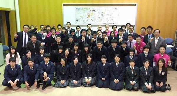 参加者の集合写真(五所川原市)