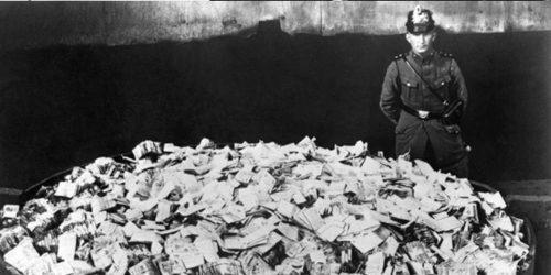 ハイパーインフレは繰り返す(Germany, 1923)