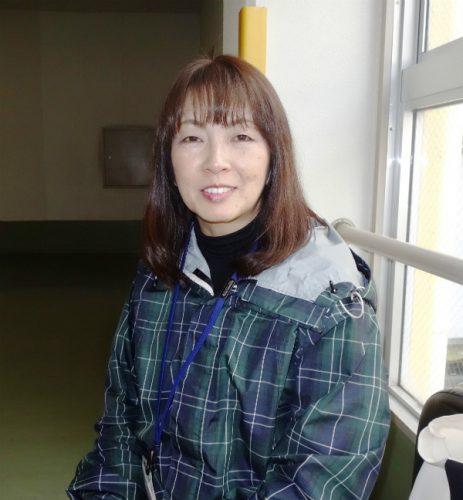 インタビューに答える別府市企画部危機管理課の村野淳子さん