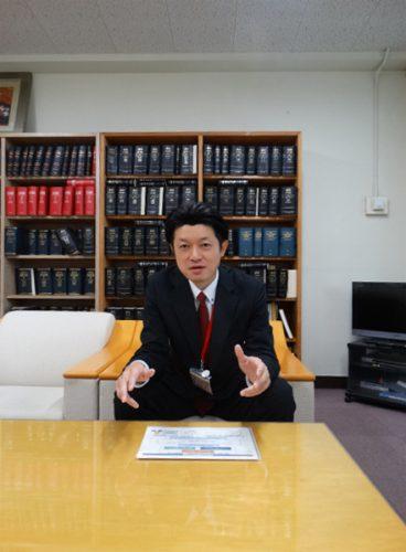 教育の魅力化予算について語る江角リーダー