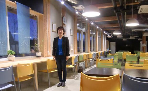 花巻市建設部都市再生室主査 伊藤ケイ子さん