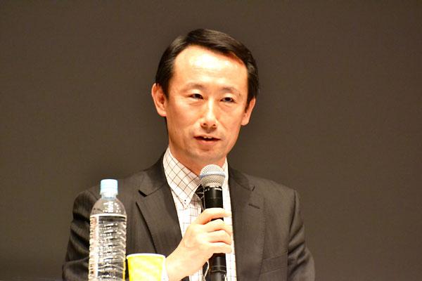 江崎禎英氏(経済産業省 ヘルスケア産業課長)