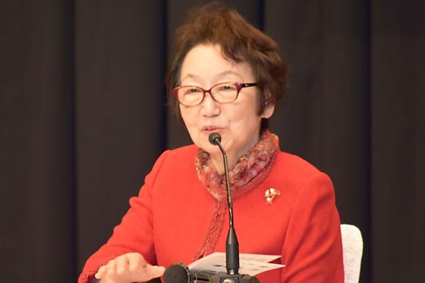 川口 順子(明治大学国際総合研究所 特任教授)