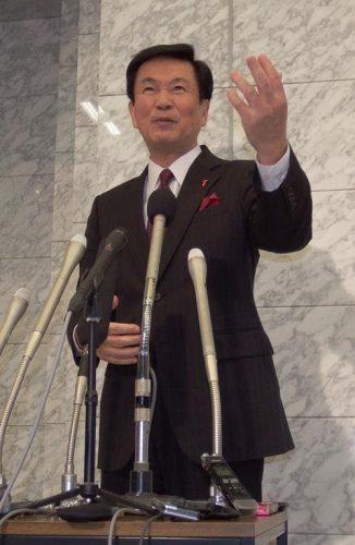 【'17千葉県知事選】森田氏3選出馬表明 「夢と未来ある県を」