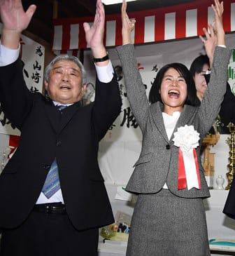 外ケ浜町長に山崎氏 青森県初の女性首長