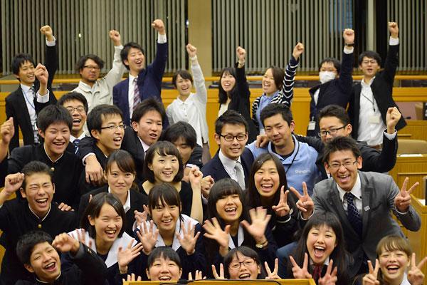 若者議会メンバー集合写真