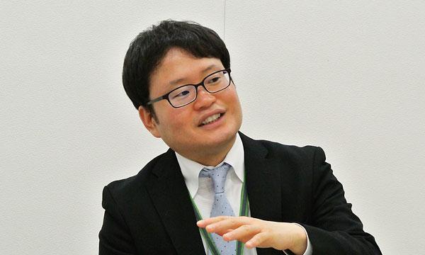日本財団ソーシャルイノベーション本部の芳川龍郎さん