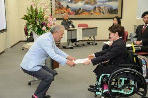 2020年パラリンピックを機にインクルーシブな社会へ―パラアスリート奨学金授与式