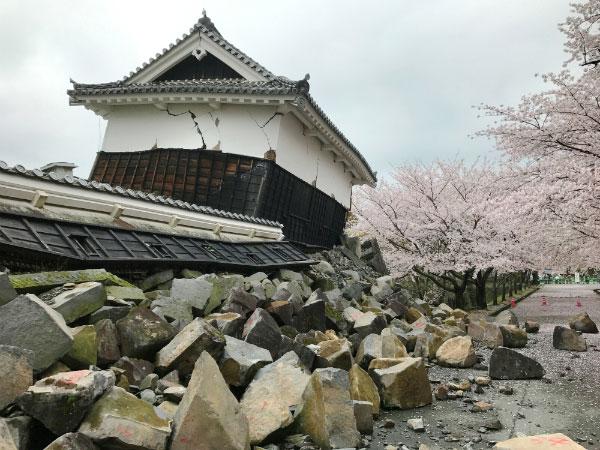 熊本城の現状
