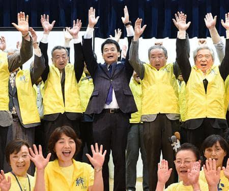 さいたま市長選、現職・清水氏3選 市のPR路線、信任受けた結果に