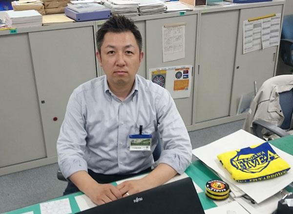 静岡市上下水道局下水道部 下水道総務課 総務係 一瀬剛さん