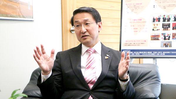 平井伸治 鳥取県知事