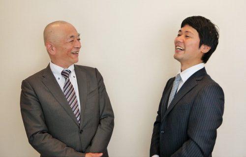 高野誠鮮さん(左)と加藤さん